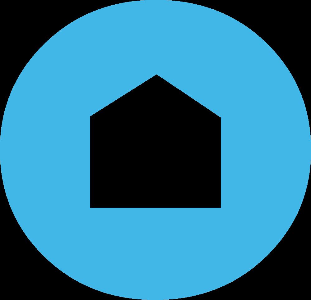 Sideco Secondary Logo, house inside of