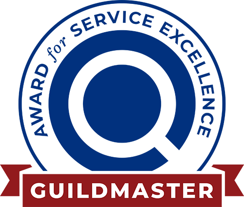 Guildmaster Service Excellence Award 10 Years Straight Bagde